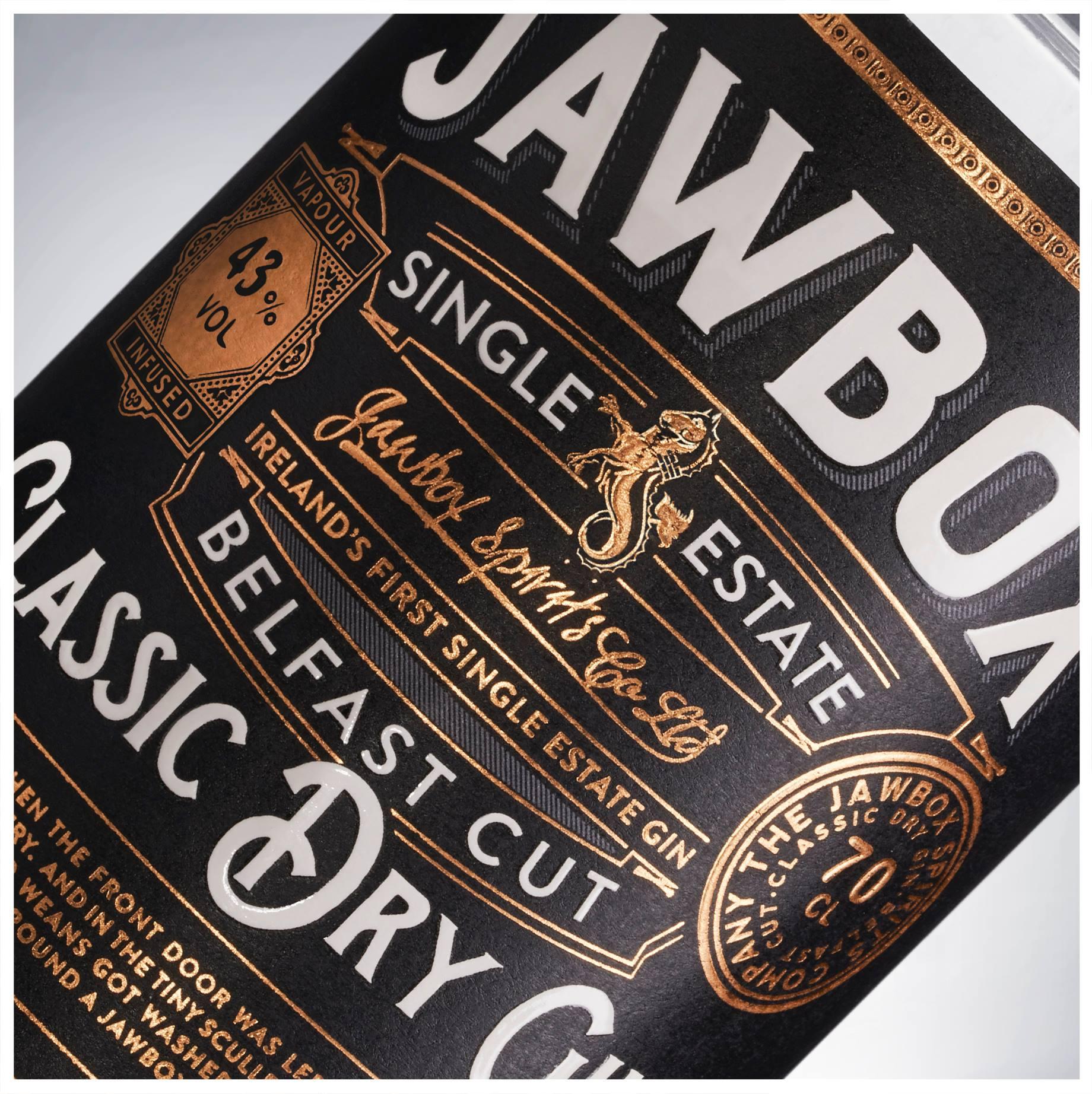 Jawbox Gin: Client Drinksology / Jawbox Gin