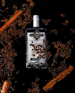 Blackwater Gin Product Photography