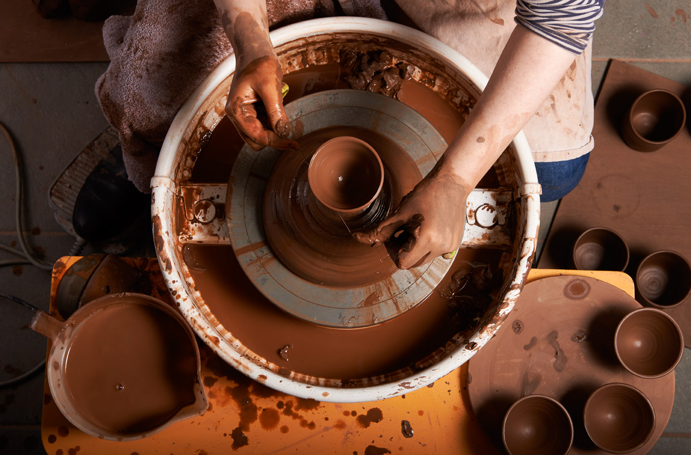 Client: Helen Faulkner Ceramics