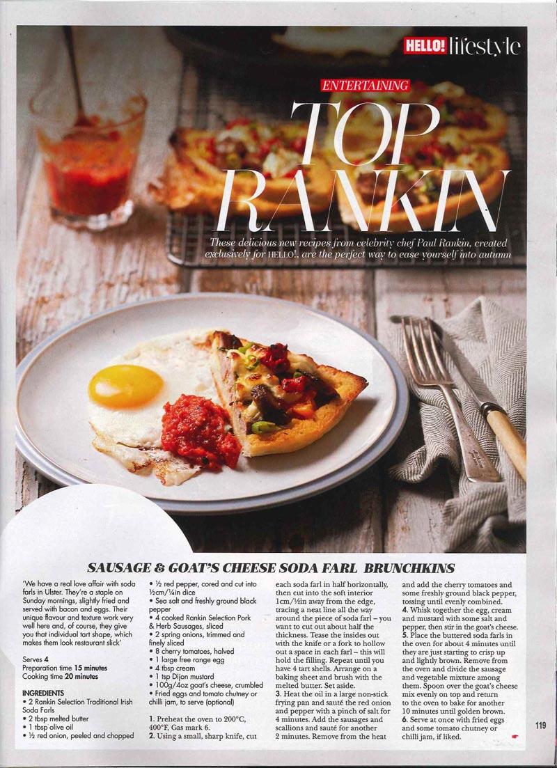 Client: Rankin Selection / Hello Magazine